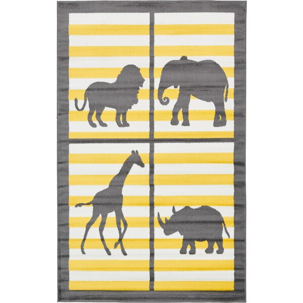 Nicholas Gray Area Rug by Viv + Rae
