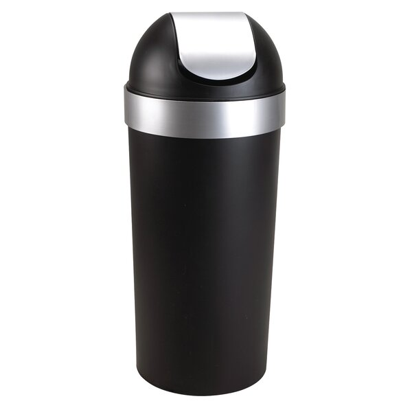 Venti 16.5 Gallon Swing Top Trash Can by Umbra