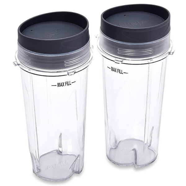 16-Ounce Single Serve Cups with Lids (Set of 2) by Ninja