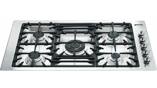 36 Gas Cooktop with 5 Burners by SMEG