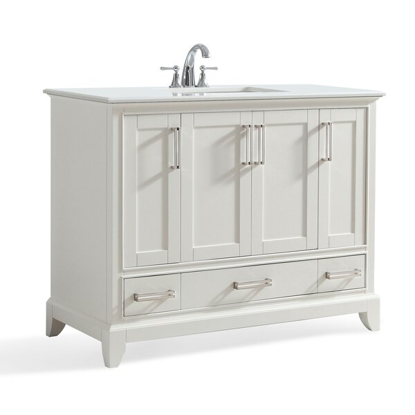 Elise 43 Single Bathroom Vanity Set by Simpli Home