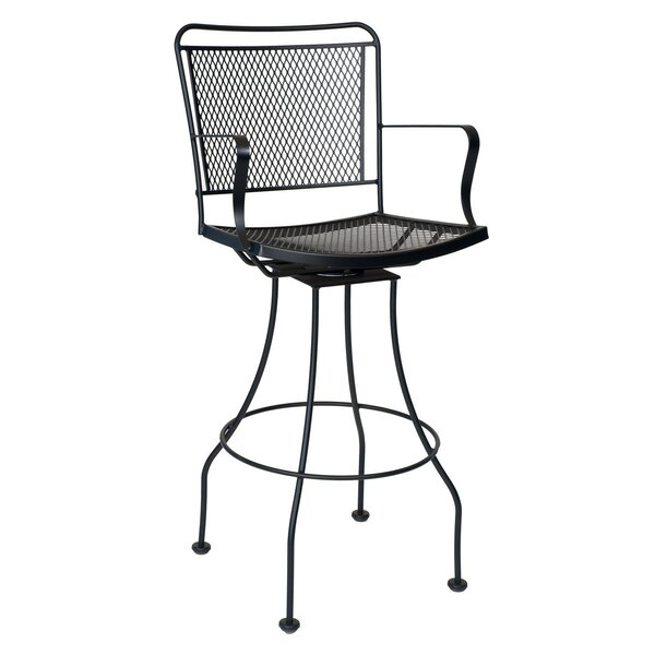 Constantine Swivel 30.5 Patio Bar Stool by Woodard