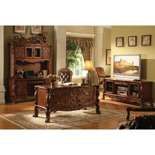 Mallett Office Desk with Hutch