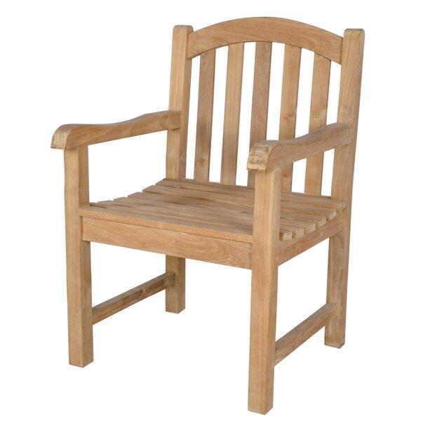 Chelsea Teak Patio Dining Chair by Anderson Teak