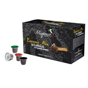 Espresso Mix Coffee Capsules (Pack of 50)