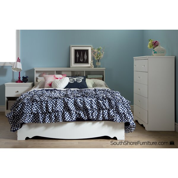 Crystal Full Mates & Captains Bed with Drawers by South Shore