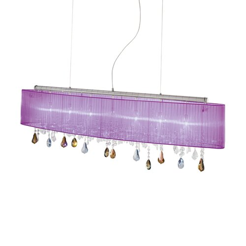 Paralume 7-Light Kitchen Island Pendant Kolarz Frame Colour: