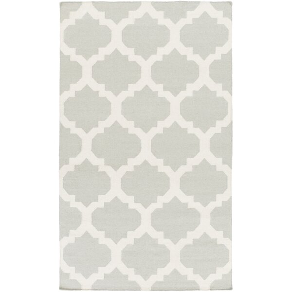 Bangor Gray Geometric Area Rug by Ebern Designs