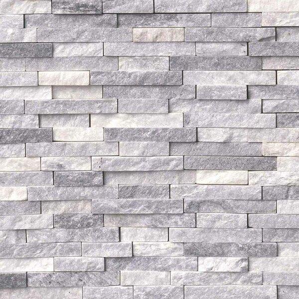 Alaskan Random Sized Marble Splitface Tile in Gray by MSI
