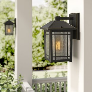 Online Reviews Beams 1-Light Outdoor Wall Lantern By Darby Home Co