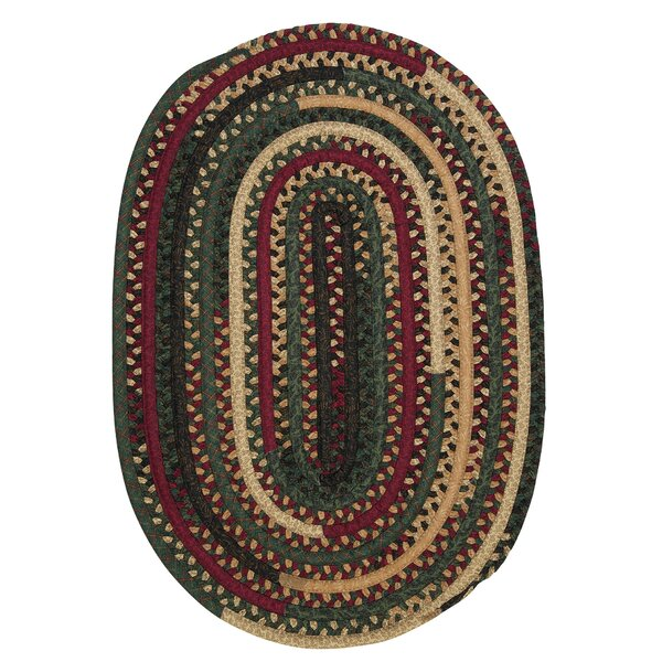 Market Mix Oval Winter Area Rug by Colonial Mills