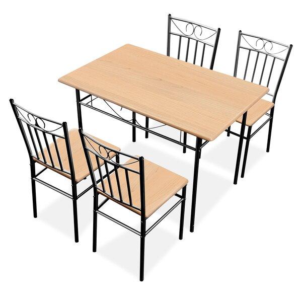 Pamphilos 5 Piece Dining Set by Winston Porter