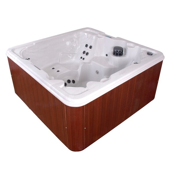 Punta Cana 6-Person 83-Jet Spa with LED Light and Ozonator by QCA Spas