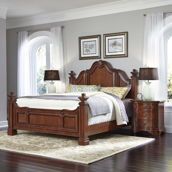 Whitfield Platform 3 Piece Bedroom Set by Astoria Grand