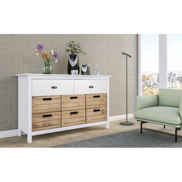 Hardouin 8 Drawer Combo Dresser by Highland Dunes