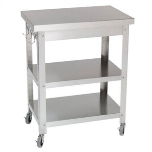 Superbe Stainless Steel Kitchen Cart