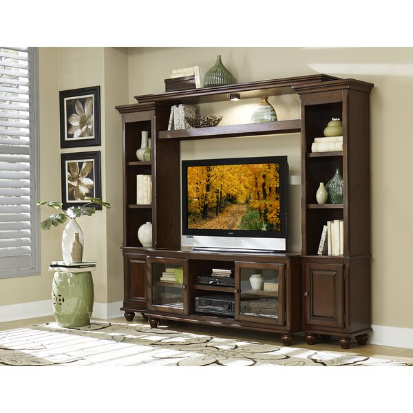 Lenore Solid Wood Entertainment Center For TVs Up To 55 Inches By Homelegance