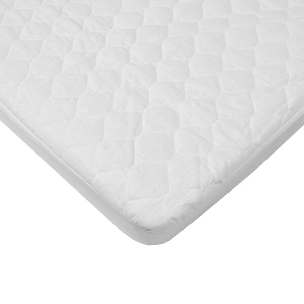 Waterproof Quilted Cradle Mattress Pad Cover by American Baby Company