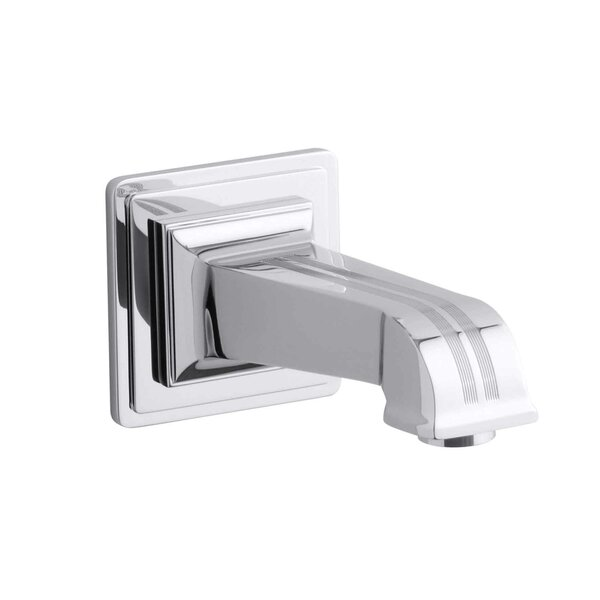Pinstripe Wall-Mount, 6-7/8 Non-Diverter Bath Spout by Kohler