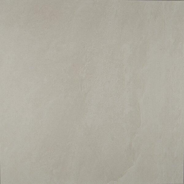 Slate Attaché 24 x 24 Porcelain Field Tile in Meta White by Daltile