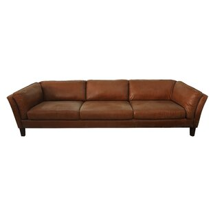 Condron 3 Seater Leather Sofa