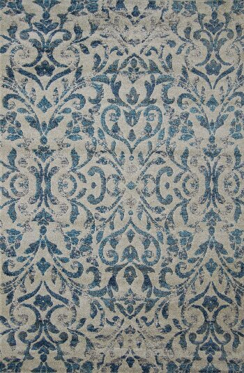 Kaylani Blue Area Rug by Bungalow Rose