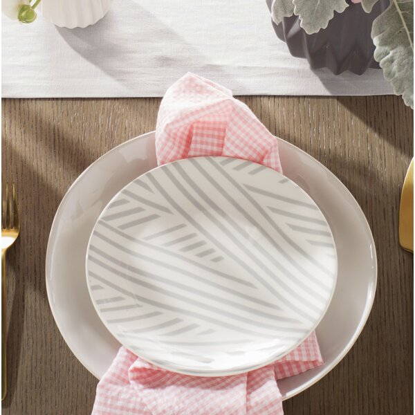 8 Overlap Salad Plate by Coton Colors