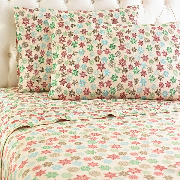 Yokota Snowflake Sheet Set by Alcott Hill