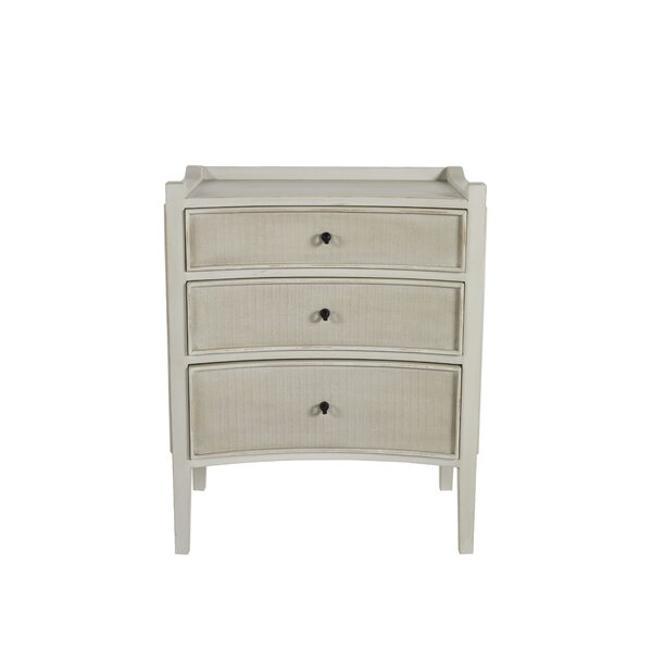 Janice 3 Drawer Accent Chest