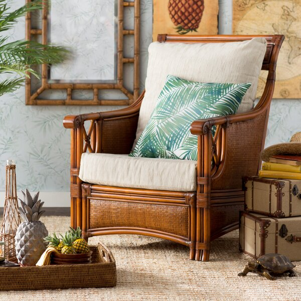 Jetta Patio Dining Chair with Cushion by Beachcrest Home