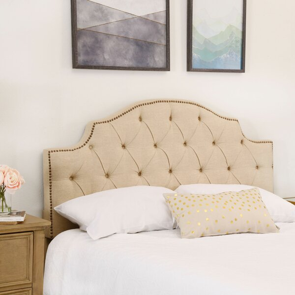 Mcalpine Upholstered Panel Headboard by Darby Home Co Darby Home Co