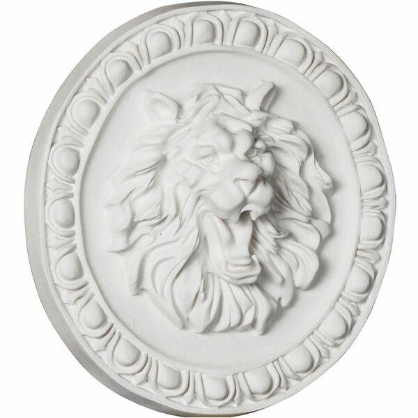 Lion 7.75 H x 7.75 W x 2 D Rosette by Ekena Millwork