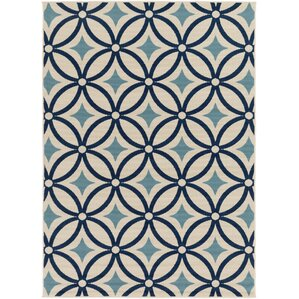 Osage Blue Indoor/Outdoor Area Rug
