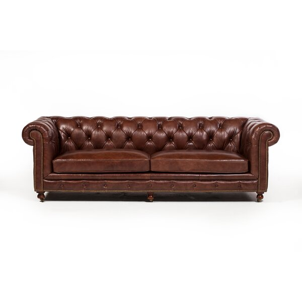 Atkins Chesterfield Sofa by Canora Grey Canora Grey