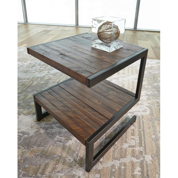 Margene Square End Table by 17 Stories