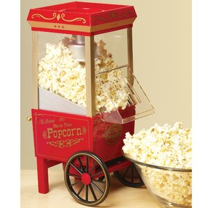 old fashioned 35 oz movietime hot air popcorn maker - Popcorn Makers