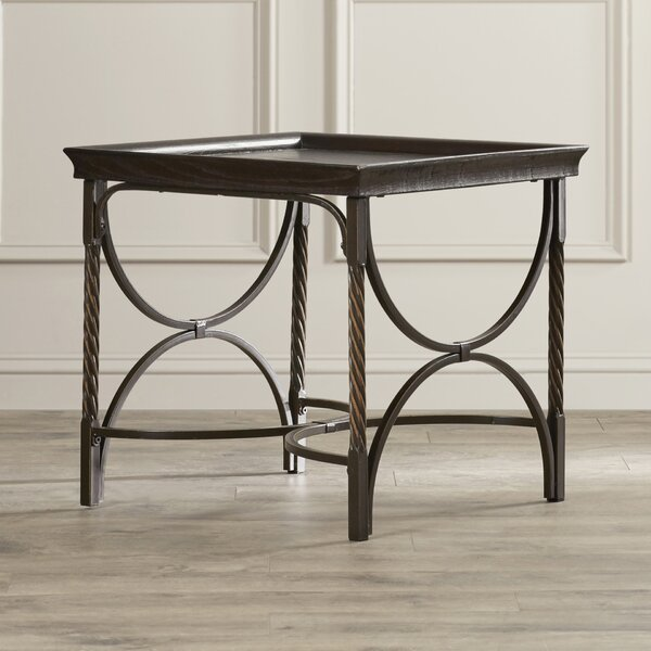 Ossian End Table by Charlton Home