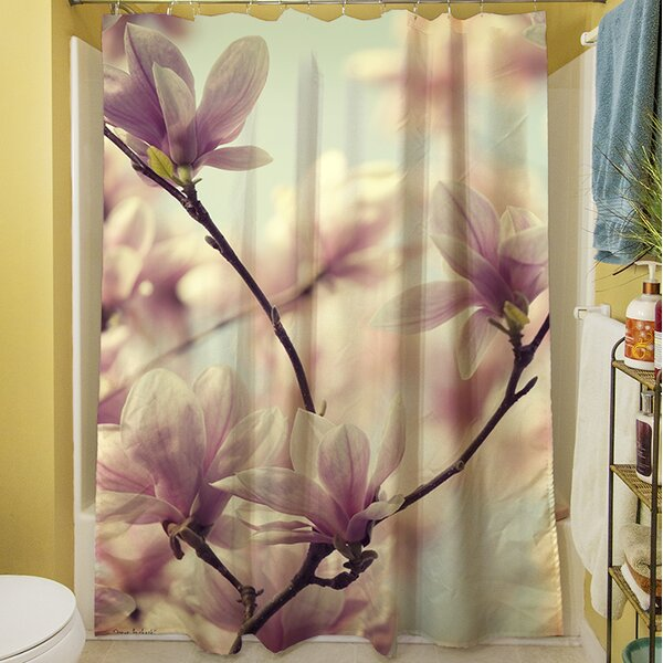 Songs Without Words  Shower Curtain by Manual Woodworkers & Weavers