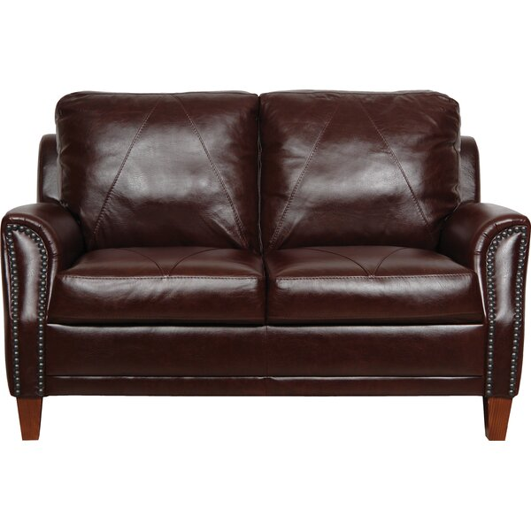 Buco Leather Loveseat by Williston Forge