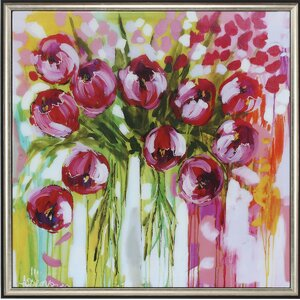 Razzle Dazzle Tulips Framed Painting Print by Propac Images