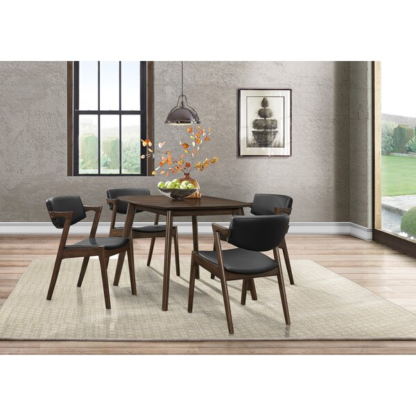 Marcel 5 Piece Dining Set by George Oliver