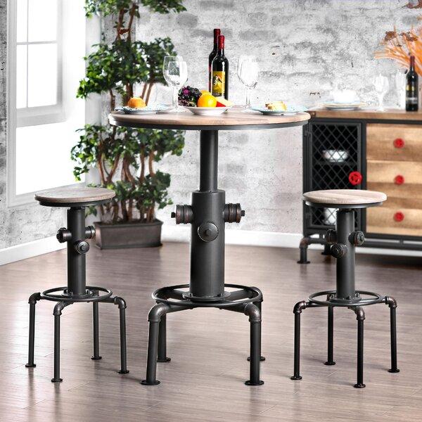 Poncha 3 Piece Pub Table Set by Trent Austin Design