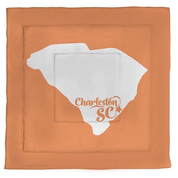 Carolina Charleston South Single Reversible Comforter