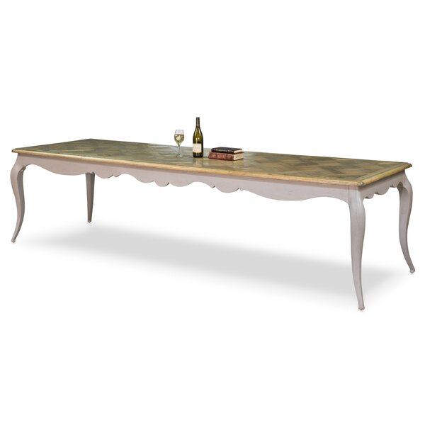 Louis XV Solid Wood Dining Table by Sarreid Ltd