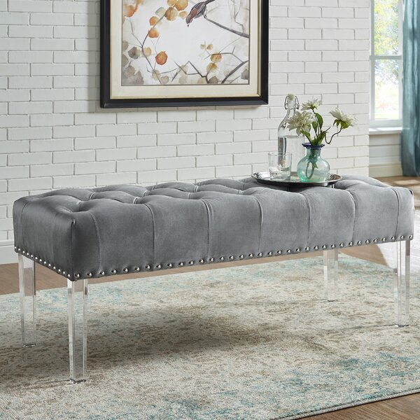 Kezar Upholstered Bench by Mercer41