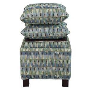 Madison Park Ashton Storage Ottoman