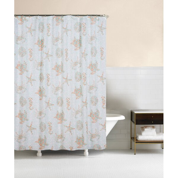 Eller Cotton Shower Curtain by Highland Dunes
