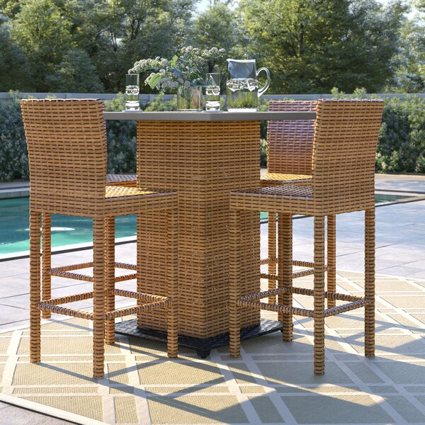 Waterbury 5 Piece Dining Set by Sol 72 Outdoor