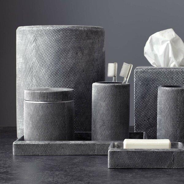 Mesh Cotton Container By Kassatex Fine Linens.