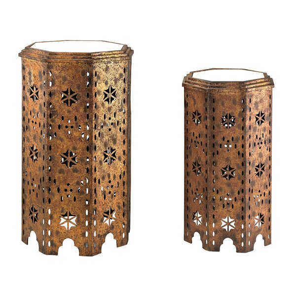 Laurier 2 Piece End Table Set by Bloomsbury Market